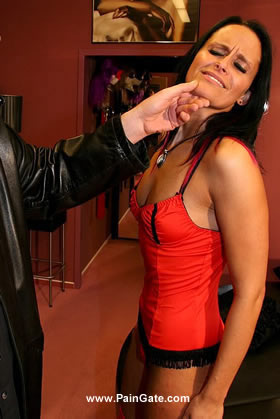PAY DAY - A BRUTAL WHIPPING FOR THIS BEAUTIFUL WHORE WHO DIDN'T PAY HER PIMP